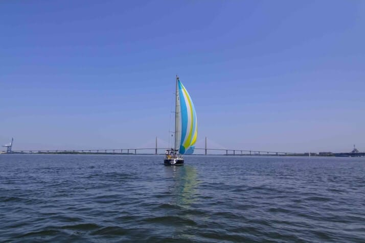 Sailing Cruises in Charleston Harbor!