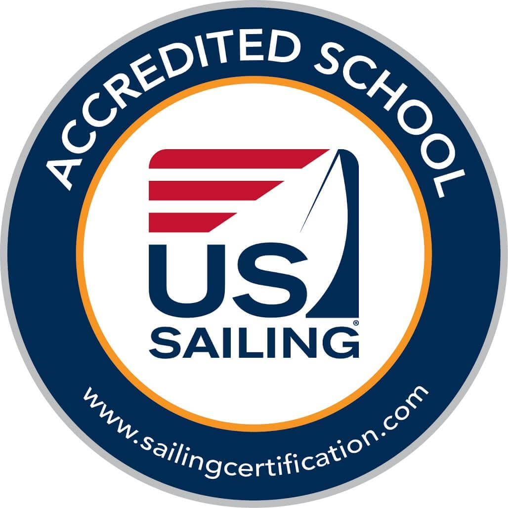 US Sailing Accredited School Logo