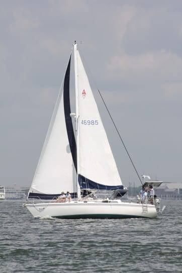 Ocean Passage Making Instruction in Charleston Harbor, SC