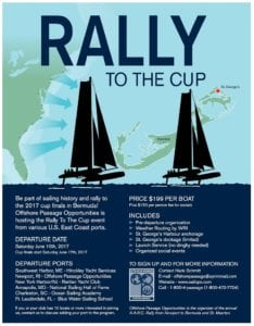 Rally to the Cup 2017 (Americas Cup in Bermuda)